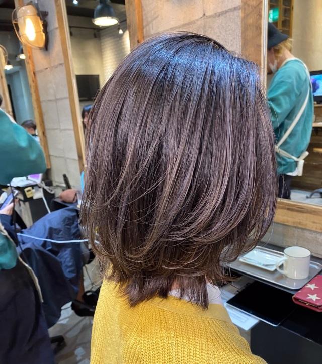 <hair cut>  バレイヤージュに挑戦!_1_1