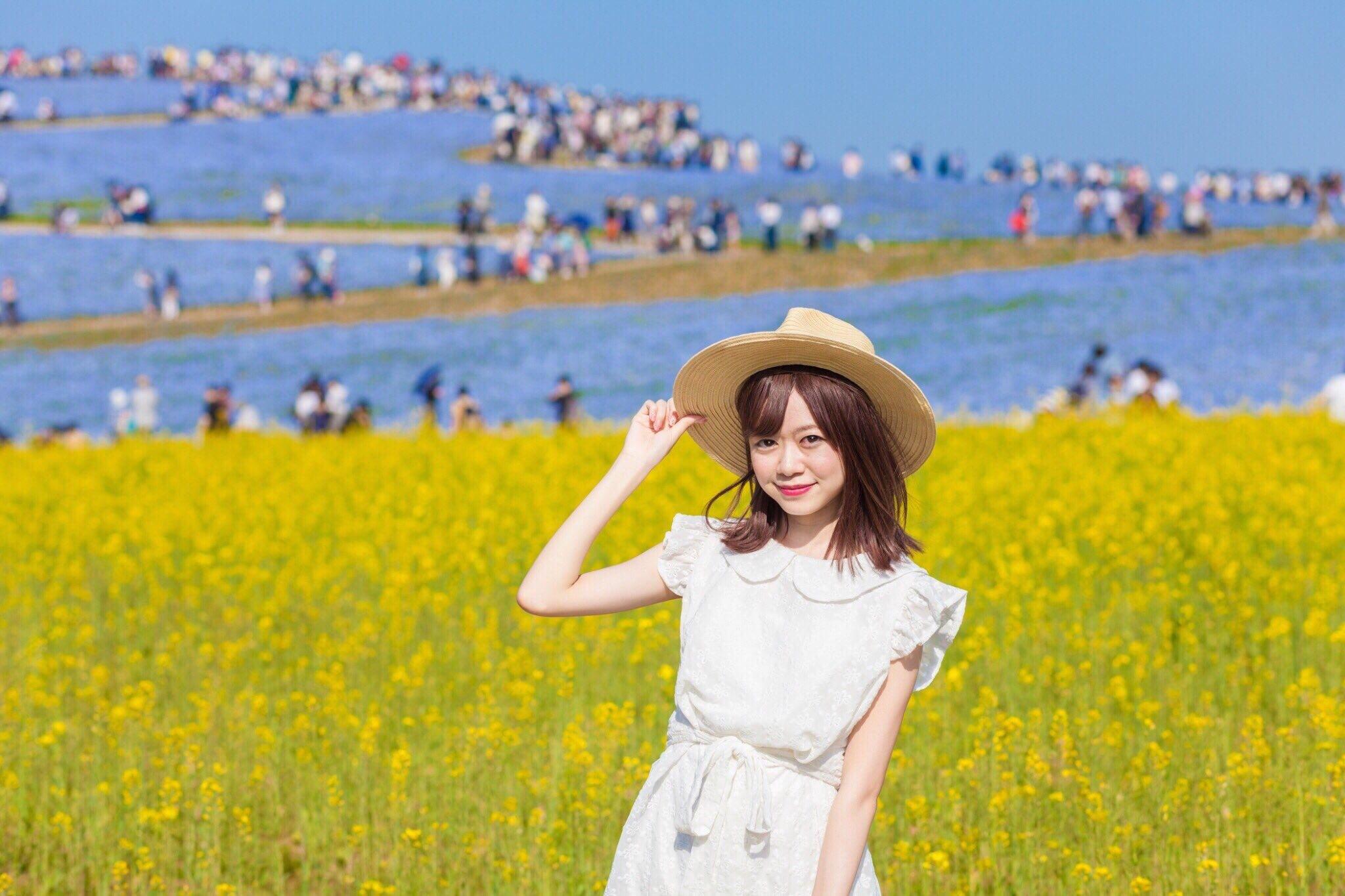 """Vol.48♡ 圧倒される絶景!国営ひたち海浜公園で""""450万本のネモフィラ畑"""" _1_4"""