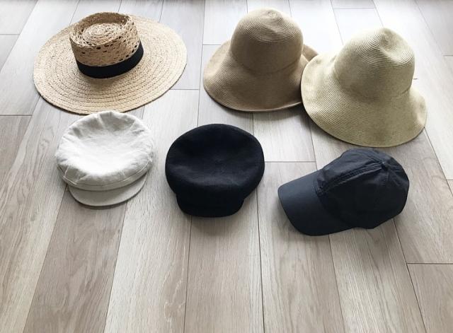 プチプラ帽子で日々のコーデにアクセントを【40代 私のクローゼット】_1_1