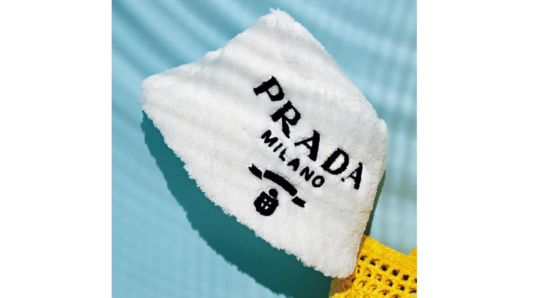 PRADAのバケットハット