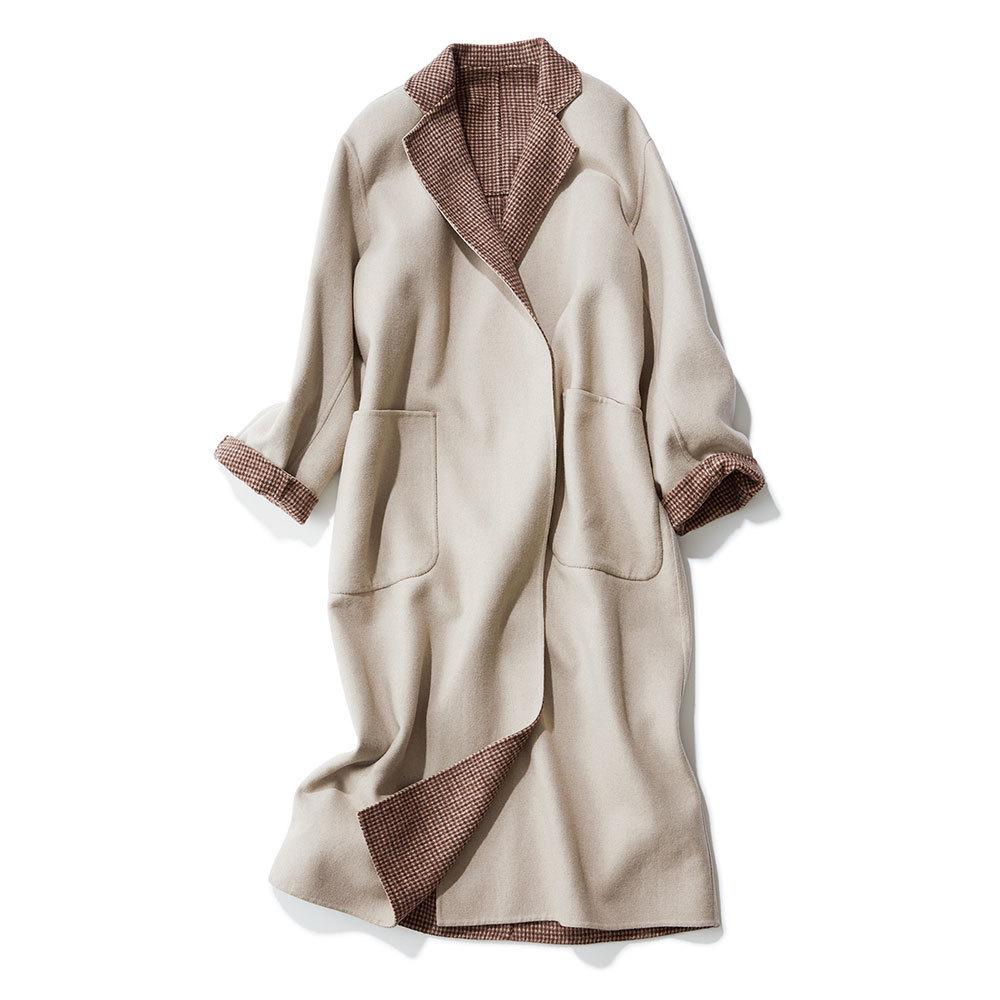 2018年冬の本命コートはイレーヴのチェック柄コート
