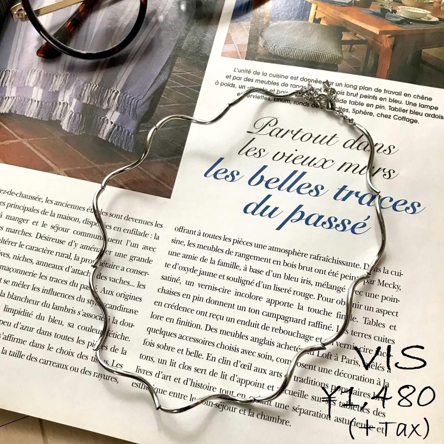 VISのネックレス画像