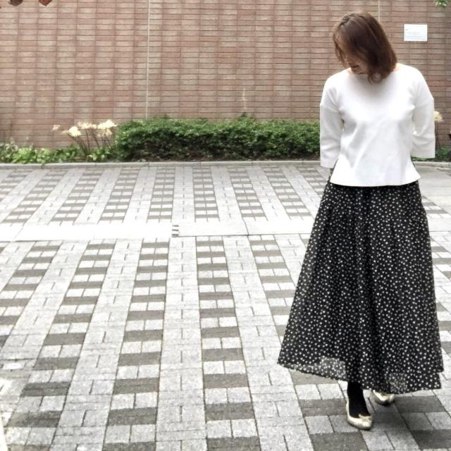 """Marisol11月号特別付録、""""ニュアンスブラック美脚タイツ""""が本当にどんな服にも合わせやすい!_1_3-1"""