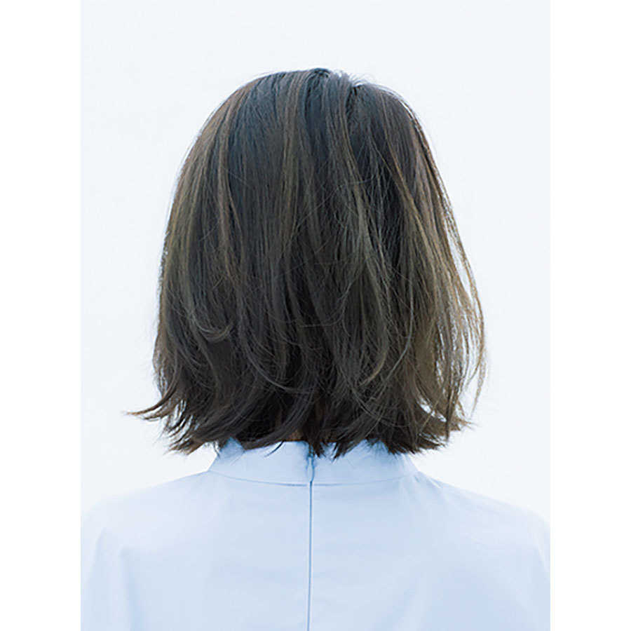後ろから見た 人気ヘアスタイル8位の髪型