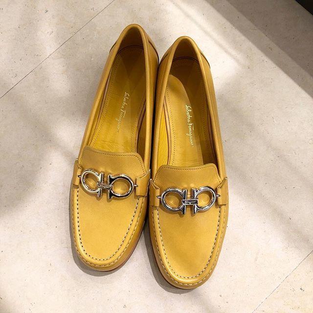 サルヴァトーレ フェラガモ 2019プレスプリング展示会の靴