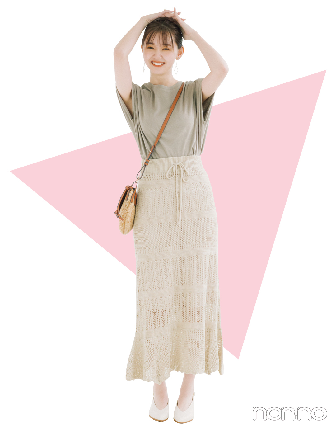 ぴたIラインスカート、腰やももが気になる…【ムズ着の正解vol.5】_1_3