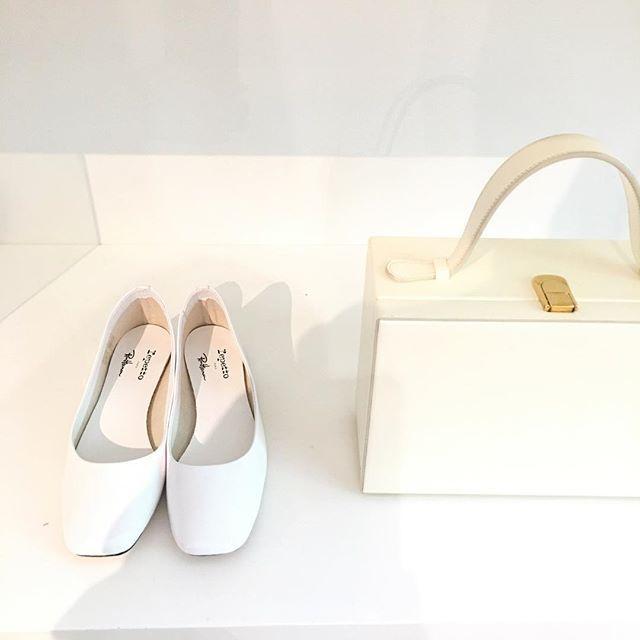 ロンハーマン発、秋冬の真っ白な靴とバッグ_1_1