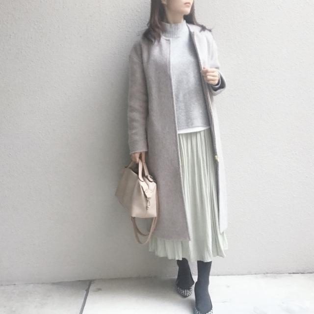 清潔感があって、しかも映える #ミントグリーン のスカート_1_4