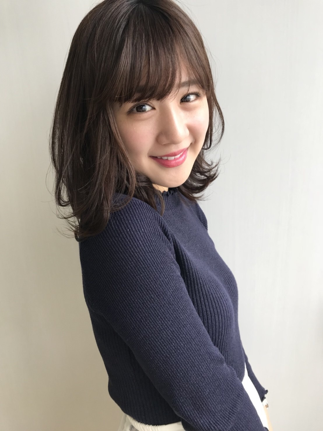 前髪パーマをかけてみました❤︎_1_2