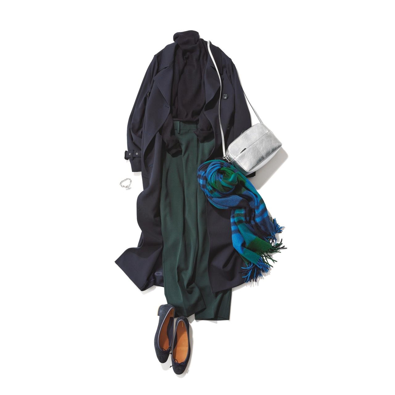 ファッション エリオポールのトレンチコート