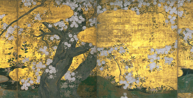 桜の美しさをアートで鑑賞、国宝の『桜図』【「京都」桜にまつわる10の愉しみ】_1_1