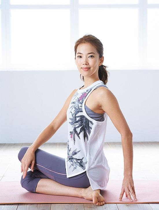 モデル菅井悦子さん「ヨガとトレーニングで、自分らしくいられる体に」【キレイになる活】_1_1