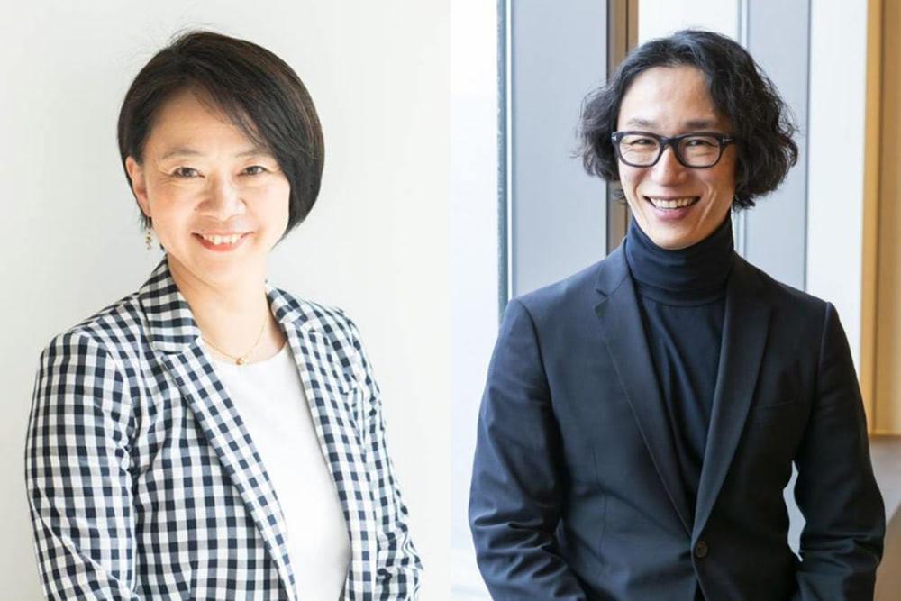 エール取締役 篠田真貴子(左)、リンクトイン日本代表 村上臣(右)