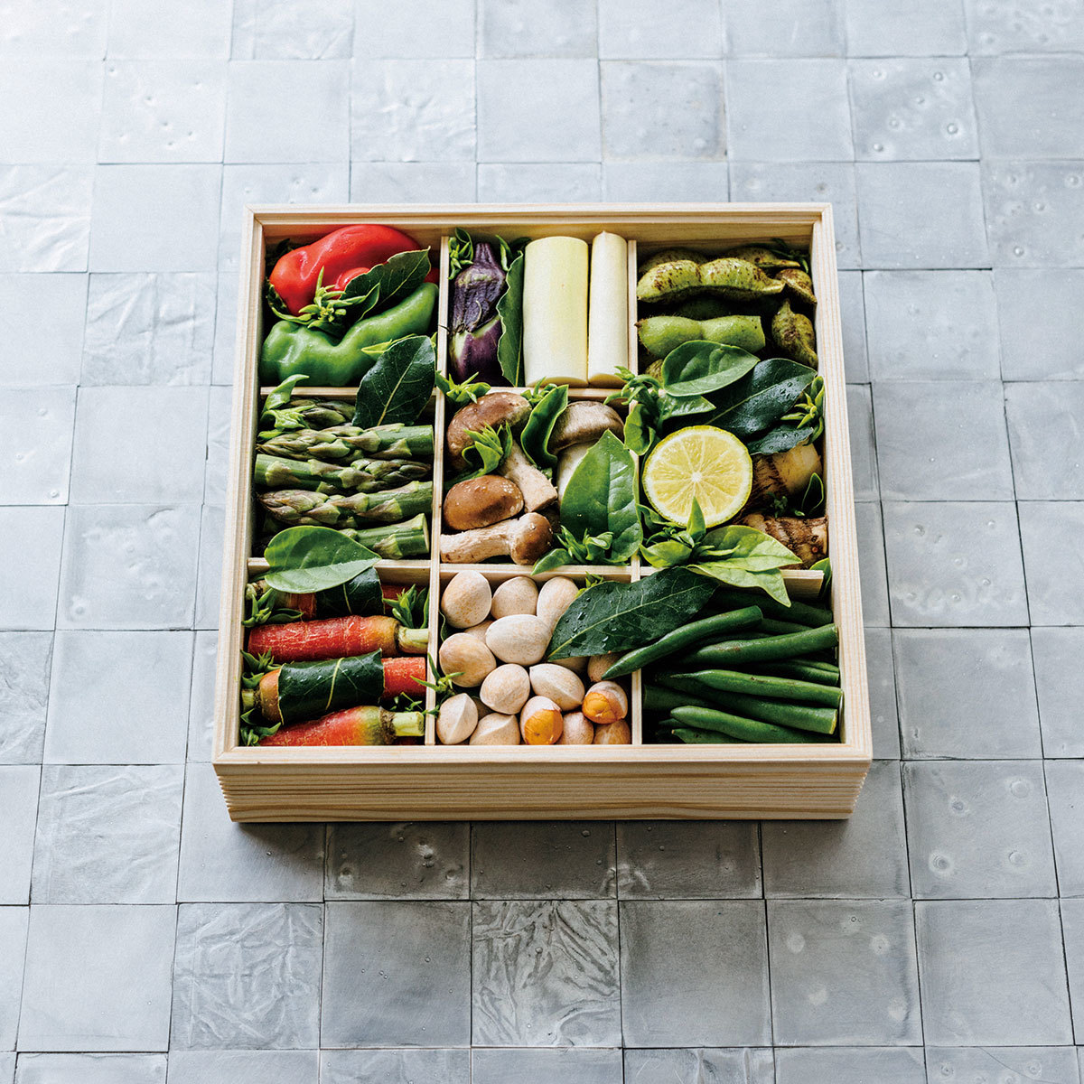 「ロジャヴェルデ」の京の野菜重