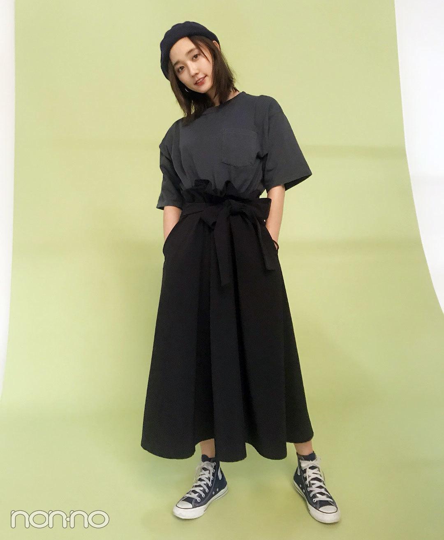 モデルの私服スナップ 鈴木友菜