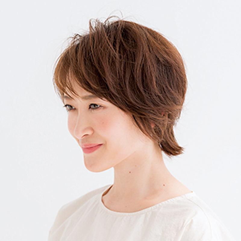 横から見た人気ショートヘアスタイル9位の髪型