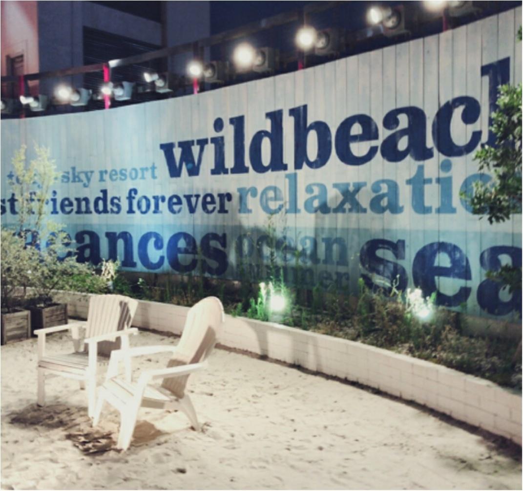 新宿ルミネエスト【WILD BEACH SHINJYUKU】