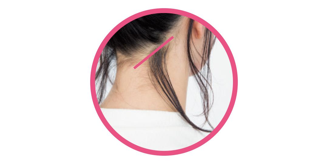 ミディアム&ロングの簡単一つ結びアレンジ★後れ毛を出す位置が違うって知ってた?_1_2