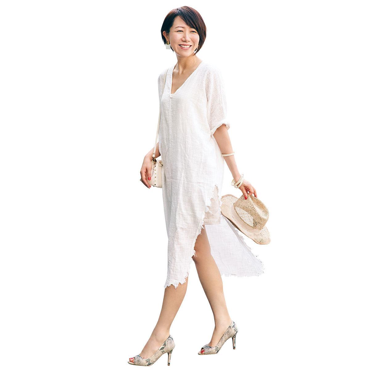 美女組休日コーデ_ritsukoさん3