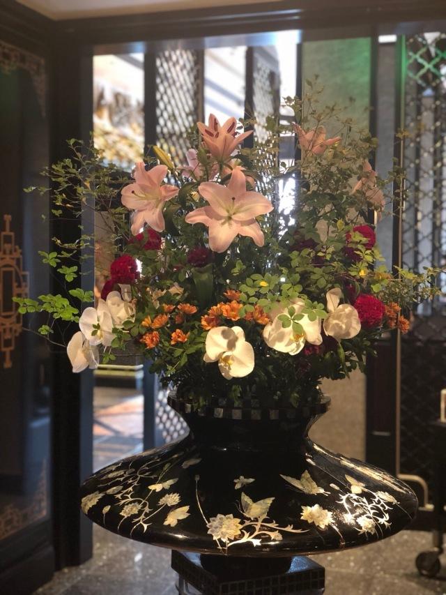 ウェスティンホテル東京「龍天門」でランチ_1_2