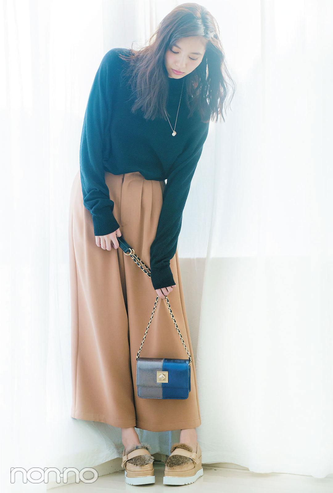 """先取り!2017年、ノンノモデル新川優愛の""""可愛い+ちょっといい女""""コーデル-ル3_1_4"""