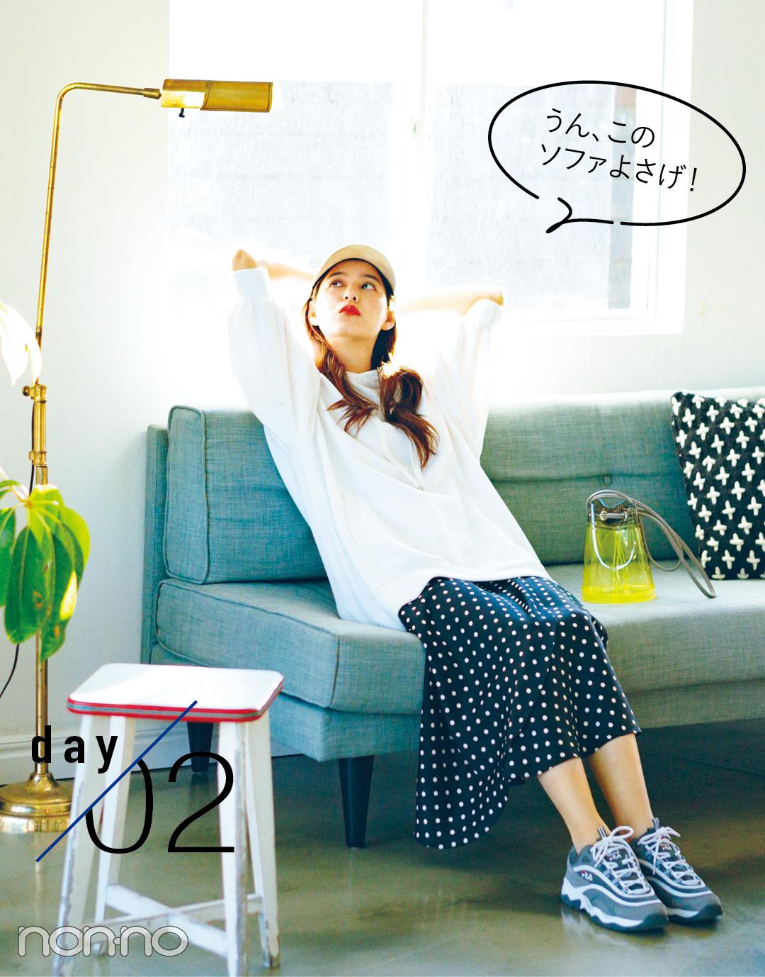 新木優子のハッピー感MAX着回しday1-5★ おしゃれで女子にモテるってこういうこと!_1_2-2