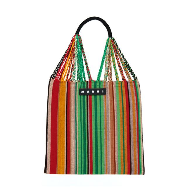 マルニのマルチカラーハンモックバッグ