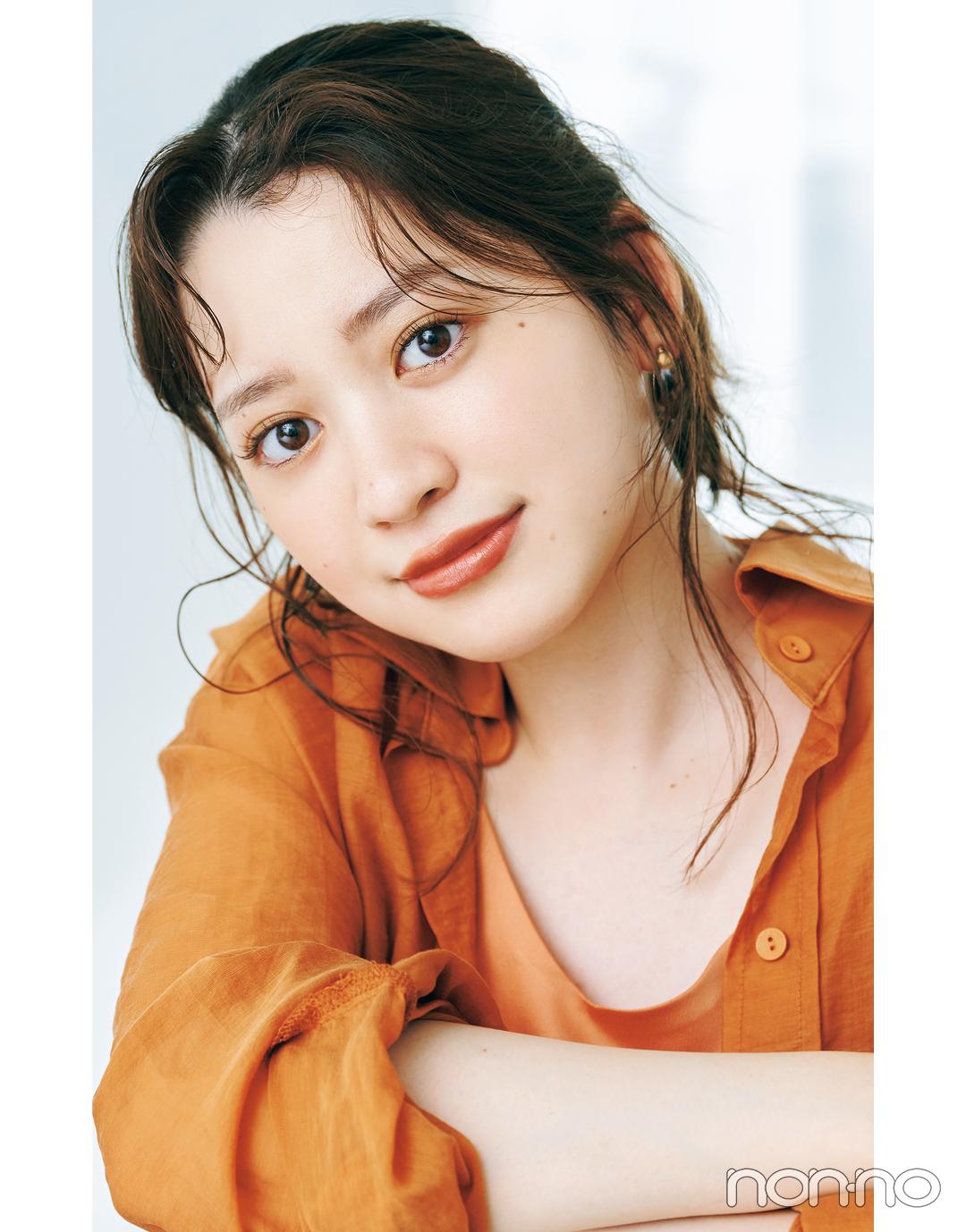 岡本夏美のニュアンス盛れる眉のつくりかたカワイイ選抜モデルカット1-8