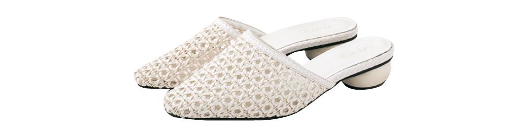 カジュアル靴 カジュアル派 メッシュミュール