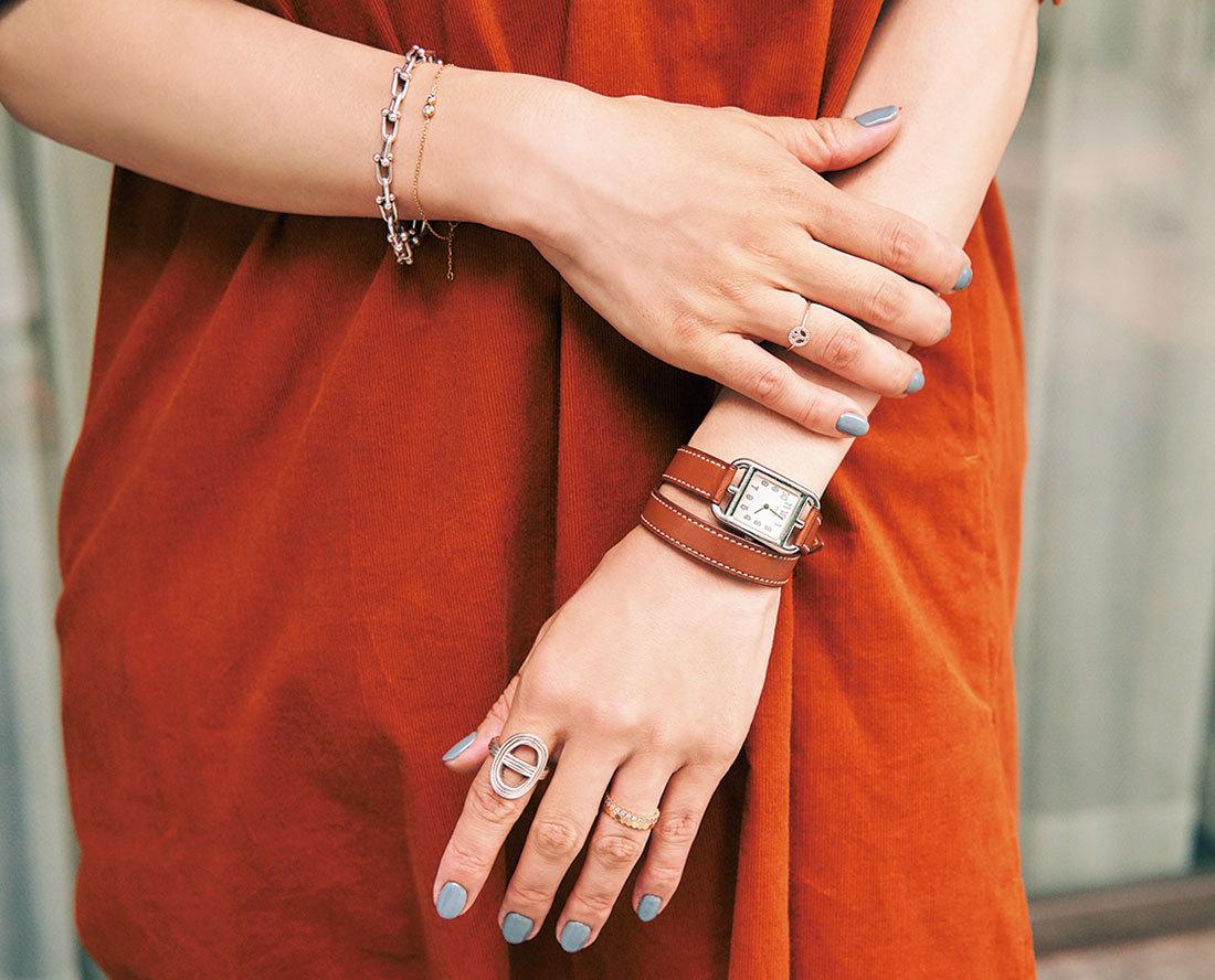 Tiffany&Hermèsrの手元コーデ_1