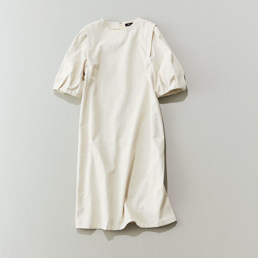 40代ファッション2019年夏のお仕事服_白ワンピース