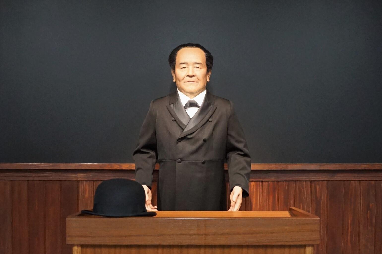 渋沢栄一アンドロイド/渋沢栄一記念館