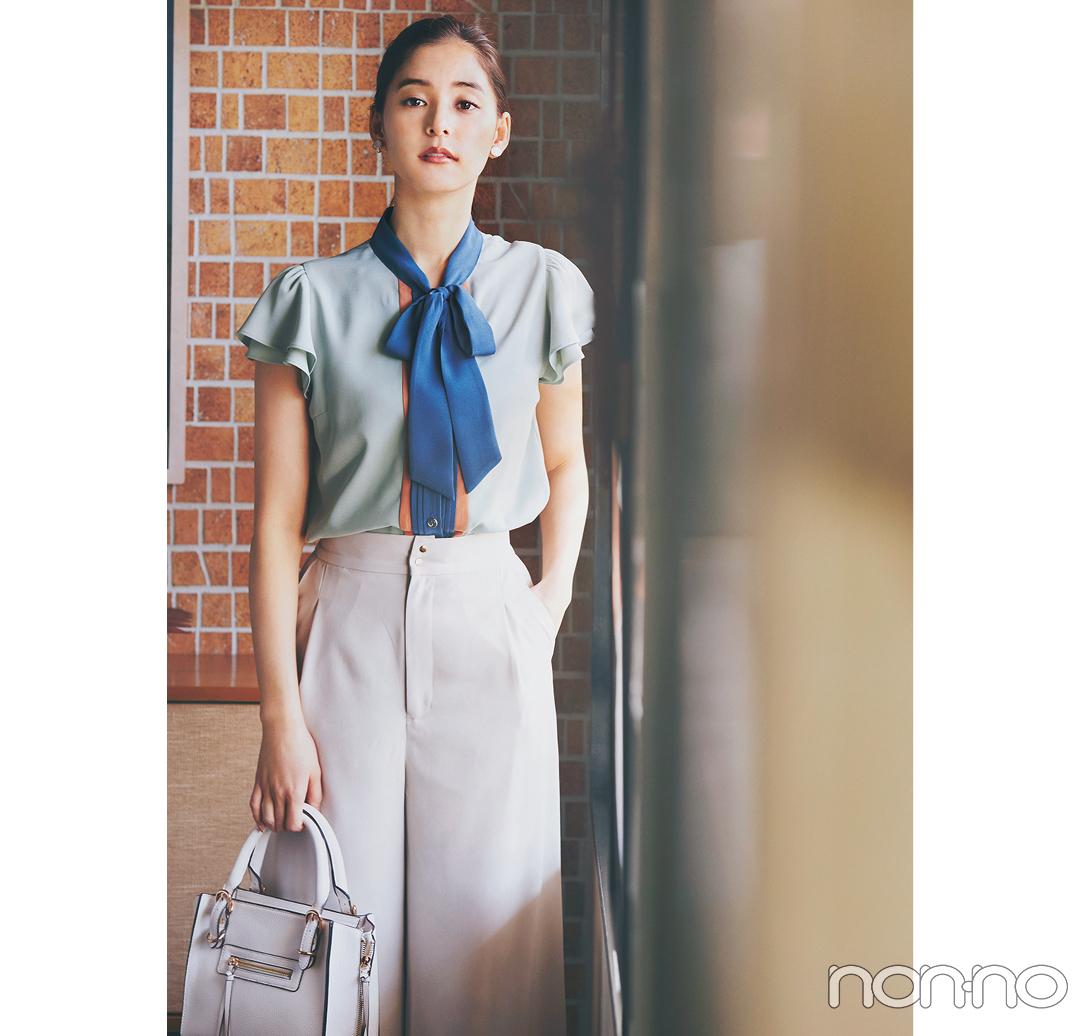 #新木優子のサバフェミニンなオフィスコーデをもっと見る_1_18