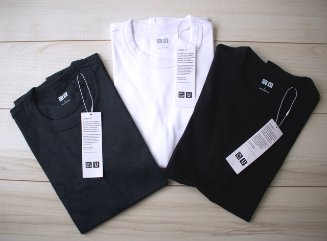 【UNIQLO U】ベーシックカラーのTシャツを新調。_1_4