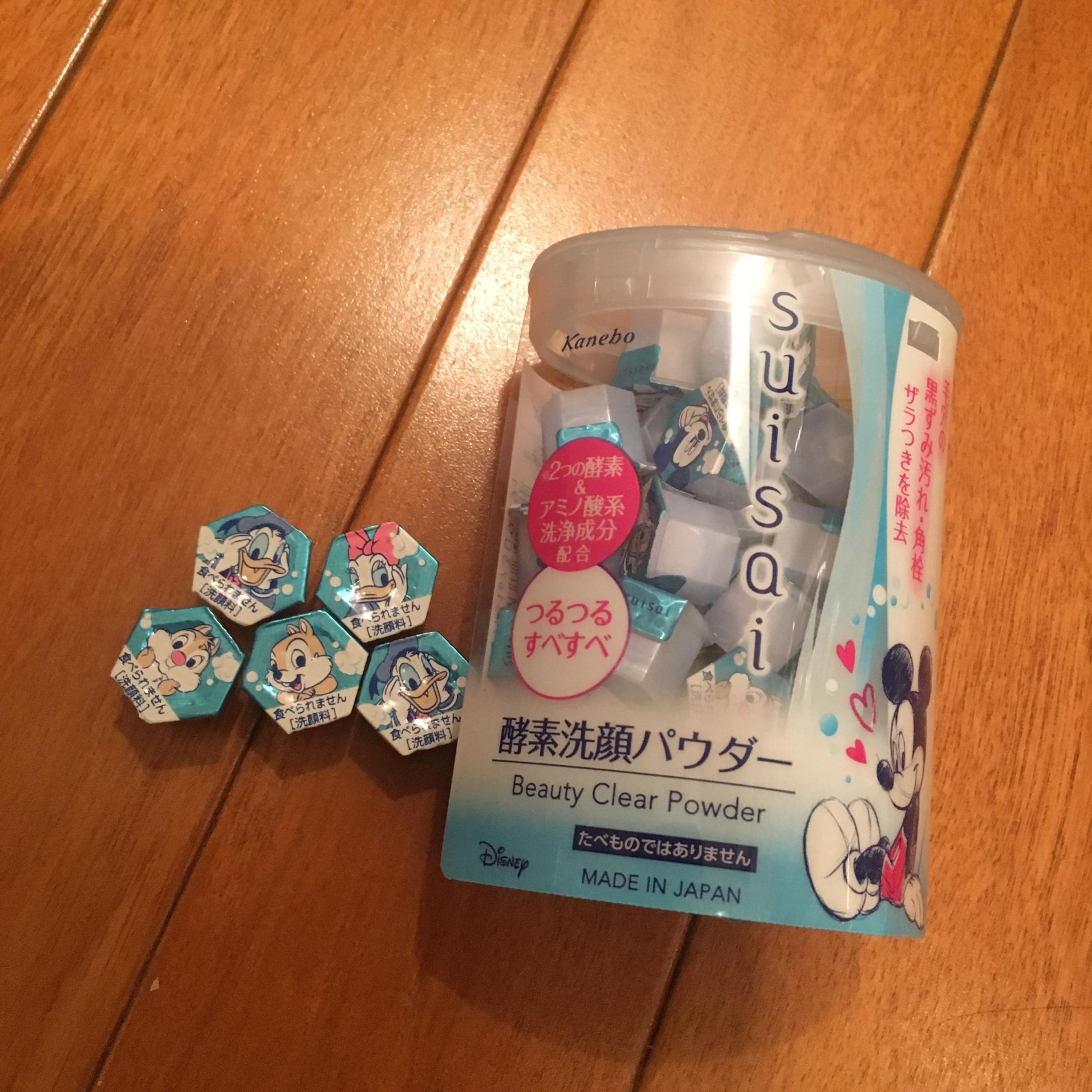 さっぱりもちもち♡suisaiの化粧水&洗顔パウダー_1_1