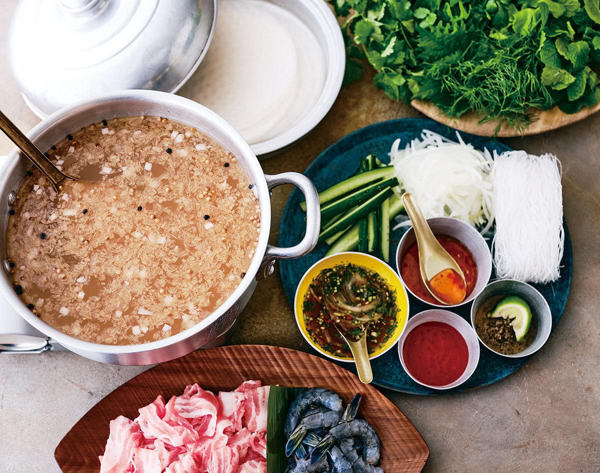 ■「キッチン」のベトナムしゃぶしゃぶセット