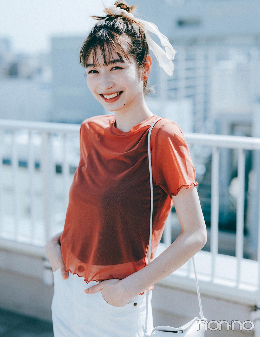 岡本夏美がお届けする大学生におすすめなコーディネート