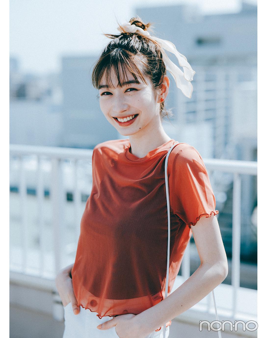 『岡本夏美』のモデルカット6-1