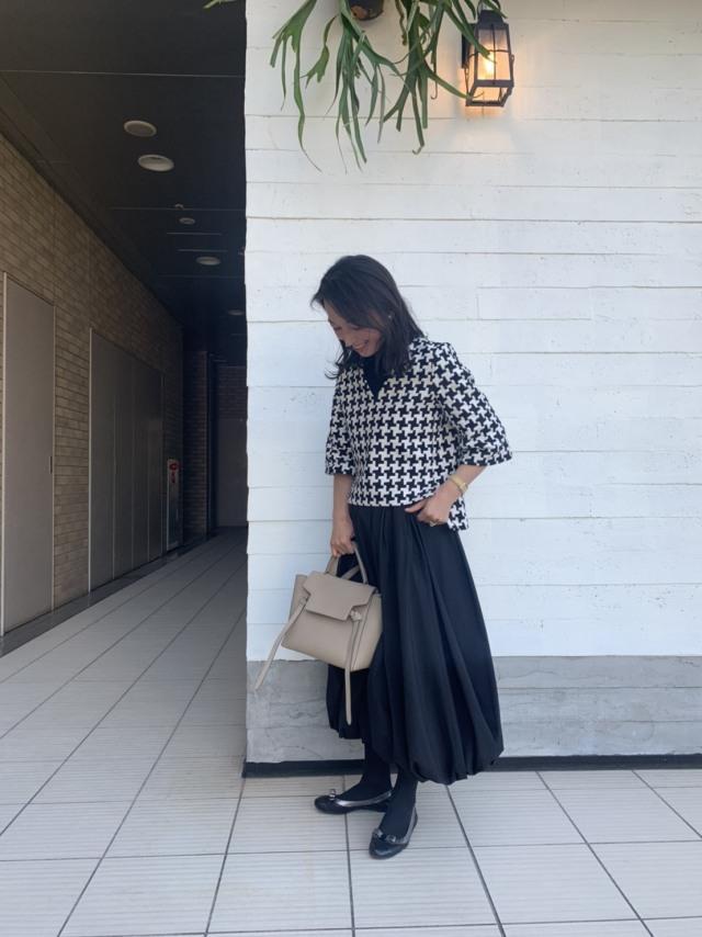 SHE Tokyoのバルーンスカートで美女達と代官山モーニング_1_1