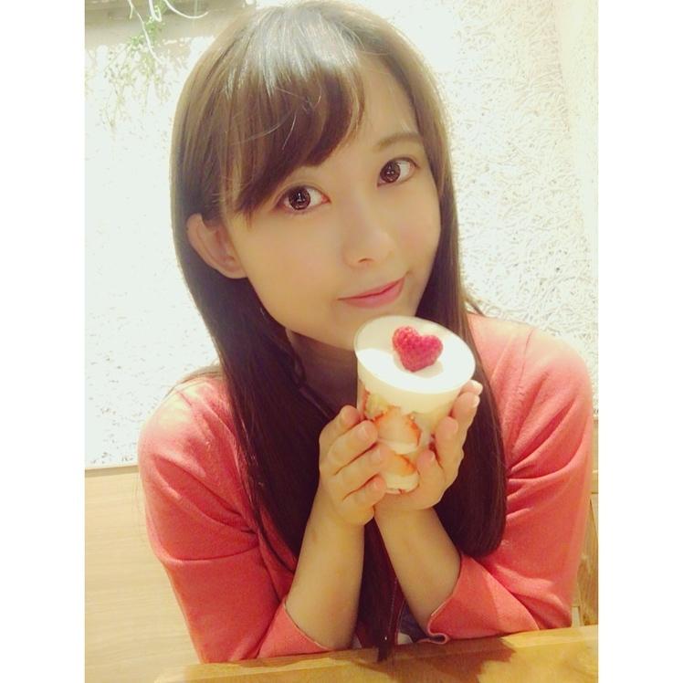 ハートのイチゴのカップショートケーキ♡恵比寿マザーリーフティースタイル_1_1