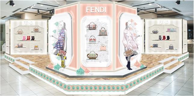 フェンディの新作コレクションが一堂に!「スウィートドリーム」開催_1_1
