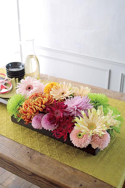 格式と優美さを添える花を 並木容子さんから学ぶクリスマスとお正月の花あしらい_1_1-5