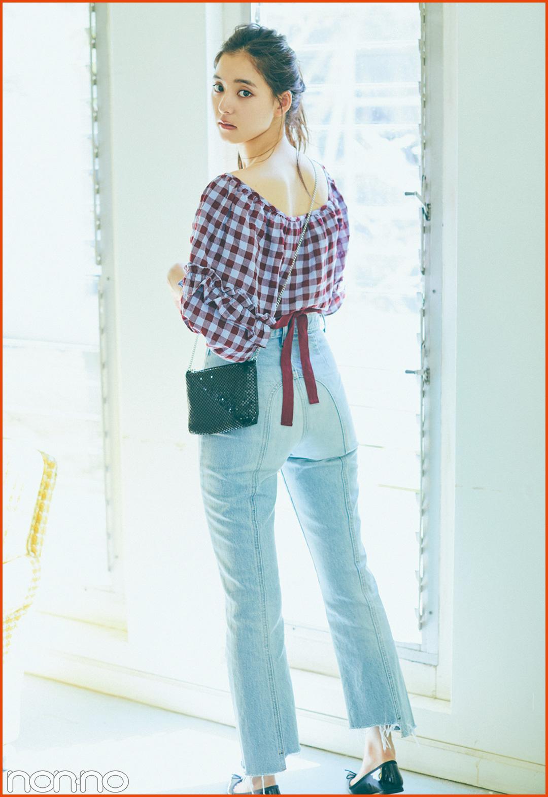 優子の私服デニムの着回しコーデをのぞき見!【新木優子に100問100答】 _1_3-1