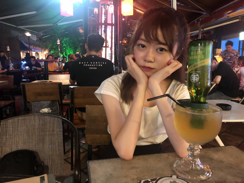 お酒の中に台湾ビールが!インパクト大!@西門町