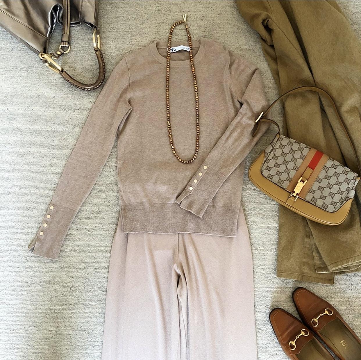 【2020春夏 50代のプチプラファッション】華組ブロガーの『ZARA』プチプラ高見えコーデ特集_1_42