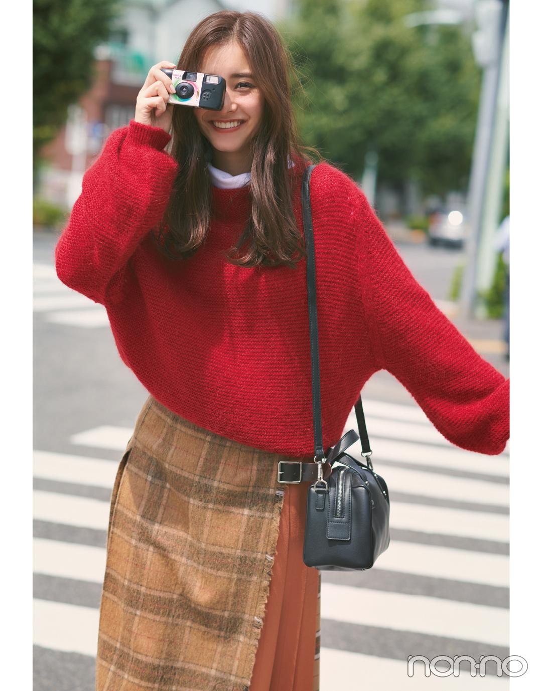 新木優子の恋とニットの物語♡ 「君」は先輩からの告白を受ける?【ニットを着るなら、エモいほう。vol.5】_1_4