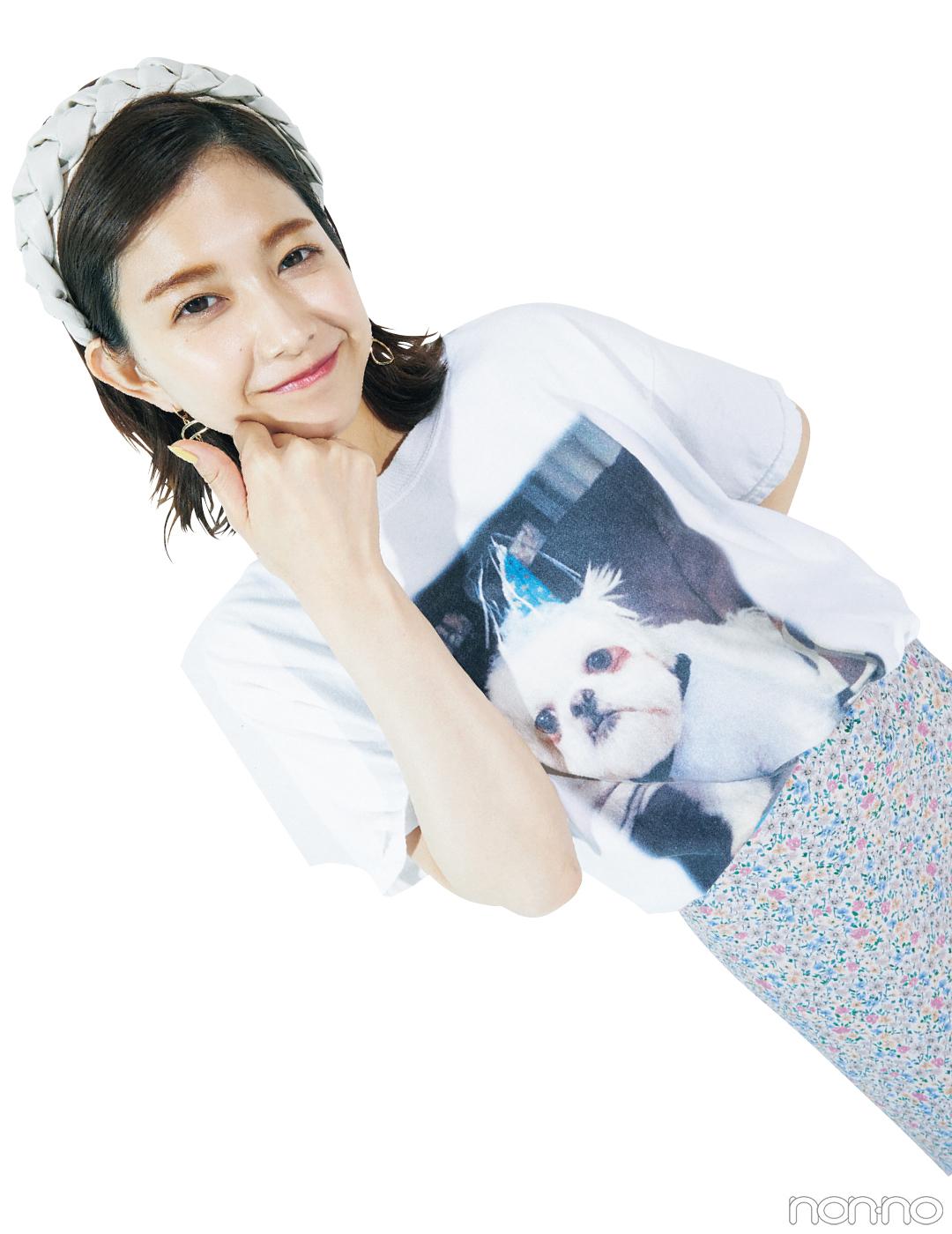 Photo Gallery 渡邉理佐の毎日Tシャツコーデ フォトギャラリー_1_24