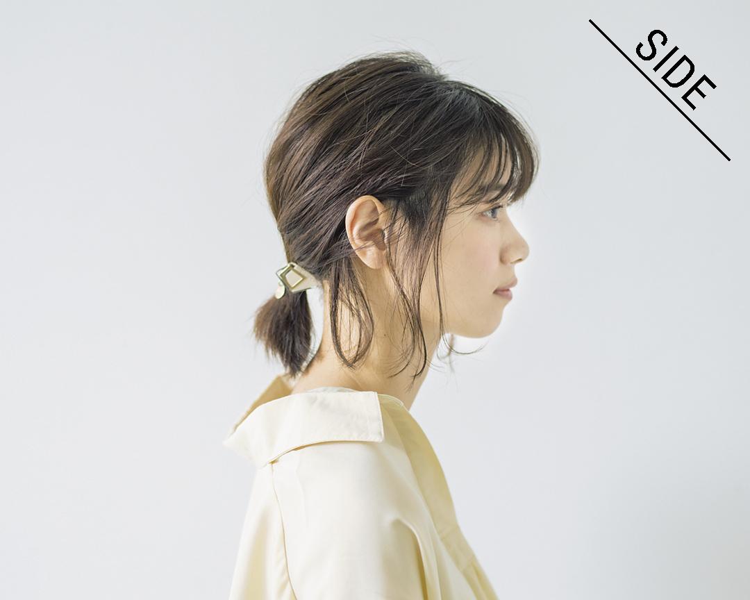 西野七瀬の#彼女感なまとめ髪♡ ボブの簡単一つ結びが少しの工夫で色っぽに!_1_3-4