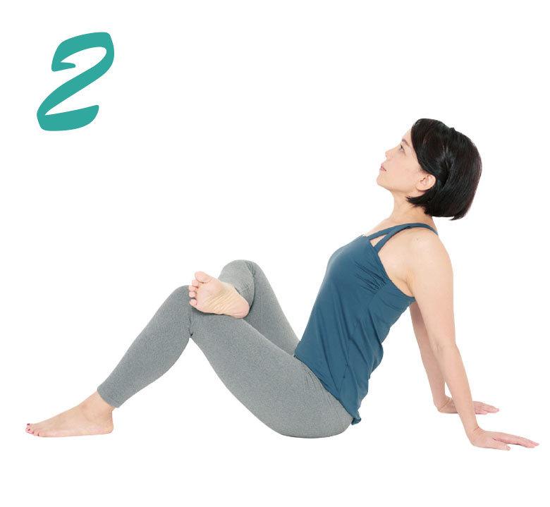 骨盤を整えるエクササイズ 腰伸ばし2