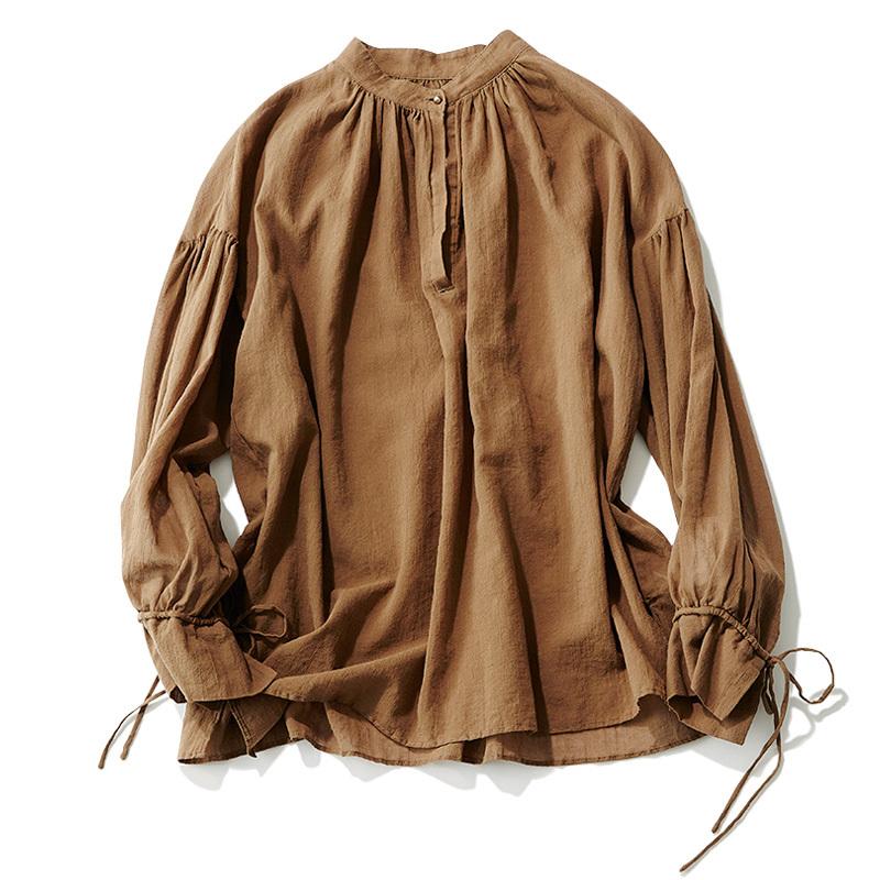 この春はシャツが着たい。「スタンドカラー」は襟の形に変化あり!_1_2-4